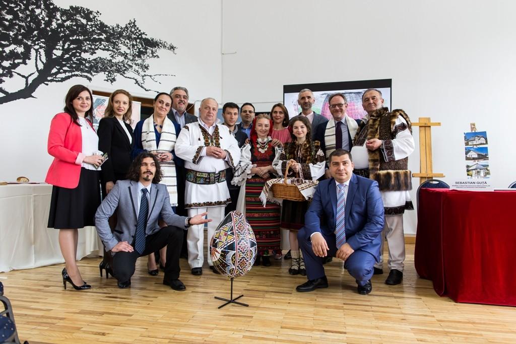 Echipa proiectului Redescopera culorile Romaniei