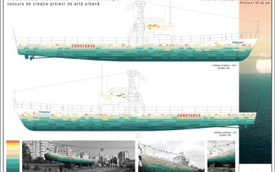 Proiectul de creație pentru primul vapor a fost ales!