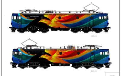 4 vapoare și o locomotivă devin pânze pentru noile creații urbane în campania Culorile Romaniei 2016